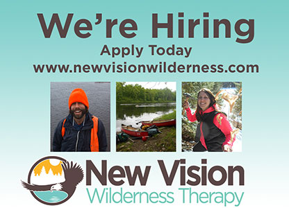 Wilderness Instructors are the front line staff that are responsible for ensuring a safe and therapeutic milieu.