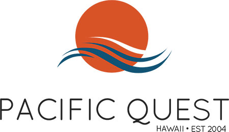 The Pacific Quest Sustainable Growth program is divided into four basic phases: Reflection (Nalu), Personal Responsibility (Kuleana), Family (Ohana), and Community Service (Malama).