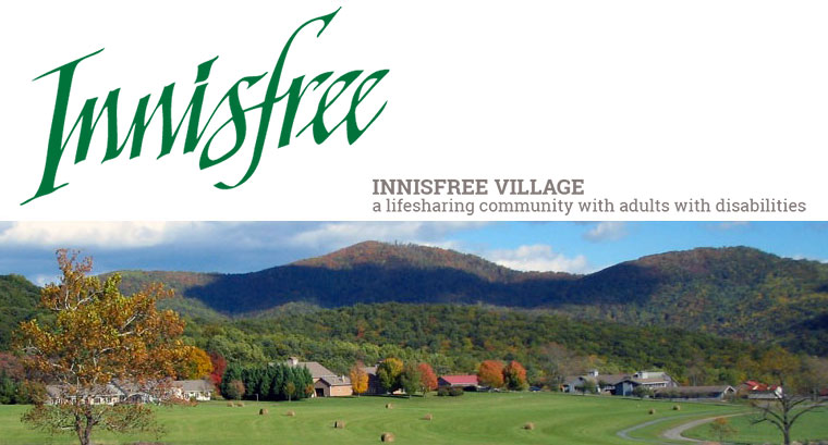 Innisfree: A lifesharing community with adults with intellectual disabilities.