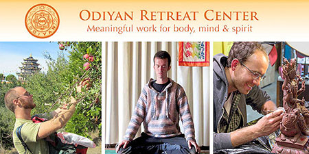 Odiyan Retreat Center: Meaningful work to preserve enlightened knowledge!