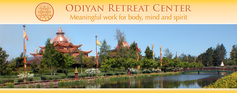 Copper Mountain Mandala — Odiyan Retreat Center: Meaningful work to preserve enlightened knowledge.