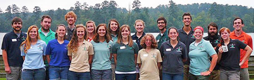 Join the Rock Eagle 4-H Environmental Education Program Staff!