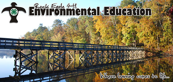 Rock Eagle 4-H Environmental Education Instructors will take each student on a voyage of discovery where learning comes alive!