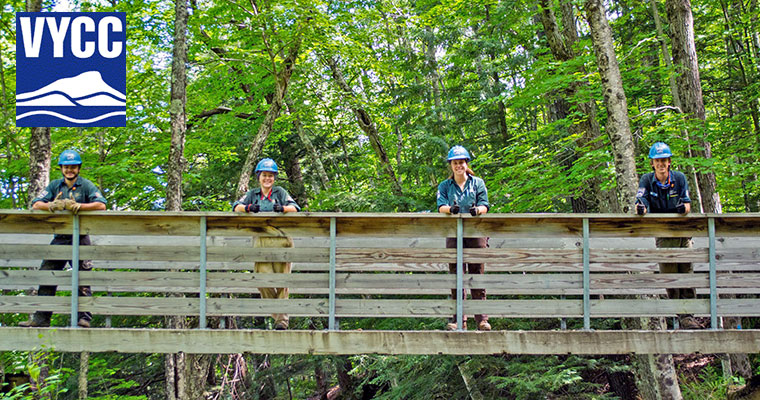 Lead the outdoor job adventure of a lifetime with the Vermont Youth Conservation Corps. Hiring Crew Leaders, Assistants and Corps Members.