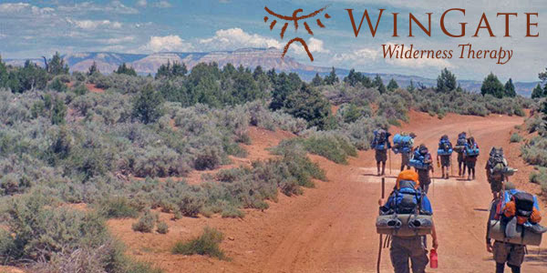 WinGate Wilderness Therapy: Wind Walkers with students on the path of life in Utah's pristine red rock territory.